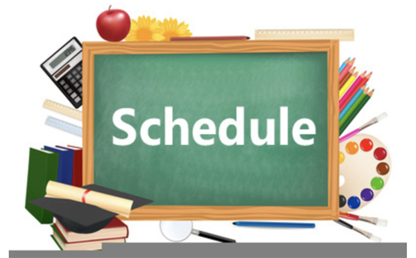 Student Instructional Schedules (Click Here)